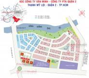 Dự án đất nền KDC Văn Minh - Phường An Phú, Quận 2.