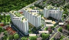 Bán căn hộ Bộ công an quận 2, suất nội bộ, 70m2, 2 phòng ngủ, giá rẻ 2.25 tỷ