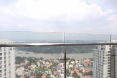Bán căn hộ penthouse Masteri Thảo Điền Q2. DT 324m2, nhà thô, view sông tuyệt đẹp, giá tốt 25 tỷ