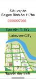 Bán nền O16 D.Án 10ha Bình Trưng Đông, đường 16m Đối diện Công Viên lớn, 5x20/85tr/m2. LH: 09069979