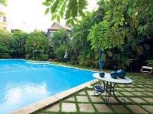 Cho thuê biệt thự Thảo Điền quận 2, Nhà 1500m2, sân vườn, hồ bơi rộng, Tiện nghi, giá 3000 USD