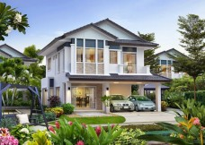 Cho thuê biệt thự thảo điền 2, 400m2, Sân vườn rộng đẹp, tiện nghi, giá rẻ 2500 usd
