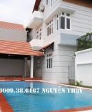 Cho Thuê Villa Đường 61, Phường Thảo Điền- Hồ Bơi- Nội Thất Cao Cấp-3000USD/tháng