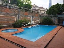 Cho thuê Villa Đường 23, Bình An - Q2 – Có Hồ Bơi – Sân Vườn – Giá TL