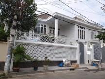 CHO THUÊ  Villa 15x20m sân vườn,trệt 1 lầu 4P,gara  Bình An QUẬN 2