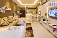 Cho thuê căn hộ An Phú Quận 2. Nhà 2PN đẹp mới, tiện nghi 100%, Giá rẻ 8 triệu/tháng