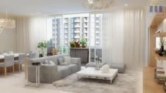 Cho thuê căn hộ The Vista Quận 2. Nhà đẹp,(104m), đầy đủ tiện nghi, bao phí. Giá cực rẻ 950usd