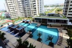 Cho thuê căn hộ Esttela giá rẻ nhà đẹp với 104m, 2 phòng ngủ, tiện nghi sang trọng, giá 22tr/tháng