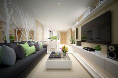 Cho thuê căn hộ Lexington quận 2, 3 PN, Tiện nghi cao cấp sang trọng, giá 1000usd/tháng