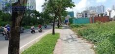 Đất trống góc 2 mặt tiền đường Nguyễn Hoàng, Quận 2. Gía 70tr/th
