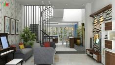 Cho thuê nhà quận 2, phường an phú, nhà  4x20m, 4 phòng giá rẻ 17 triệu/tháng