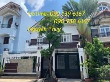 Cho Thuê nhà có sân vườn - gara Phường Bình An, 2 lầu, 4PN , giá 50 triệu/tháng .