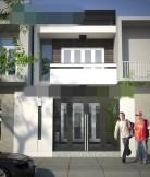 Cho thuê nhà nguyên căn kết cấu biệt thự full nội thất đường Số 1 (10m) Làng Báo Chí
